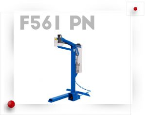 Grapadora neumática solapas laterales de cajas F651-PN Josef Kihlberg